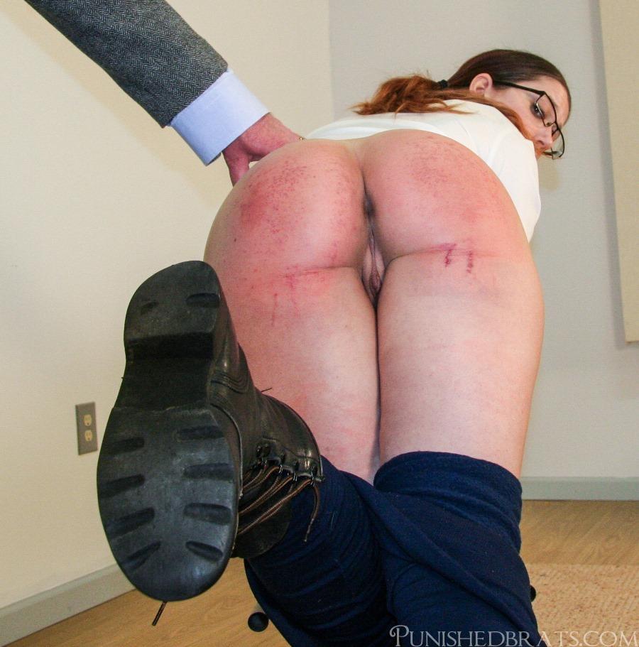 Irish girl spank