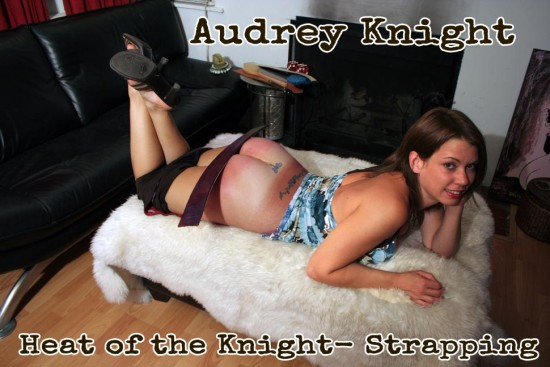 Audrey Knight gets a strapping